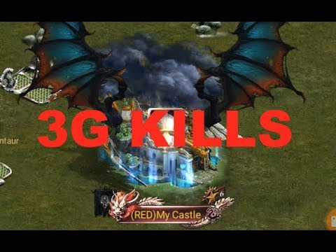 Clash Of Kings : 3G KILLS ACHIEVED 😎 - $50 GIVEAWAY VIA PAYPAL / GOOGLE / AMAZON PLAY CARD