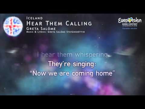 Greta Salóme - Hear Them Calling (Iceland) - [Karaoke version]