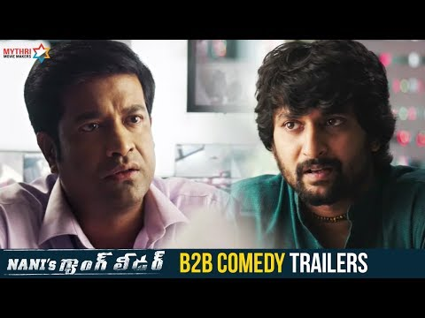 Nani's Gang Leader B2B Comedy Trailers | Karthikeya | Vikram Kumar | Anirudh | Mythri Movie Makers
