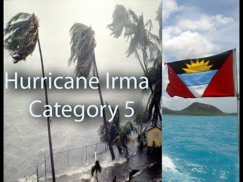 Hurricane Irma , Please save Antigua and its geography, Category 5 Hurricane for Antigua