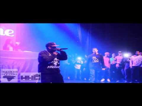 Bun B brings Drake on stage perform