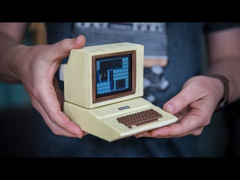 Building a Working Miniature Apple II Replica!