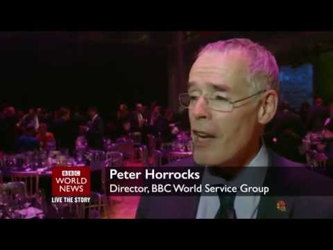 Coverage of the 10th annual AIB Awards (2014) by BBC World News