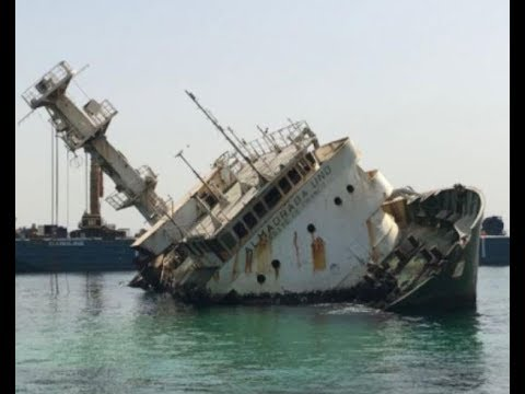 Iskes Salvage - Wreck removal of F/V Almadraba Uno