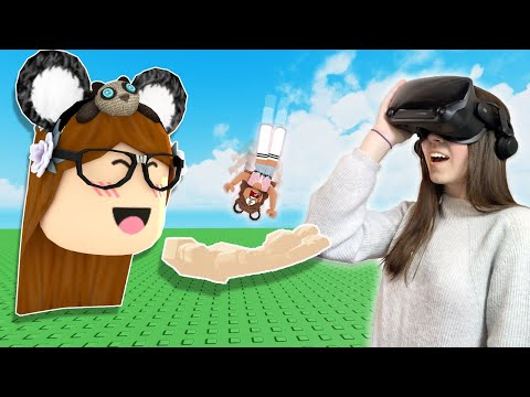 ROBLOX VR Hands Oh No...