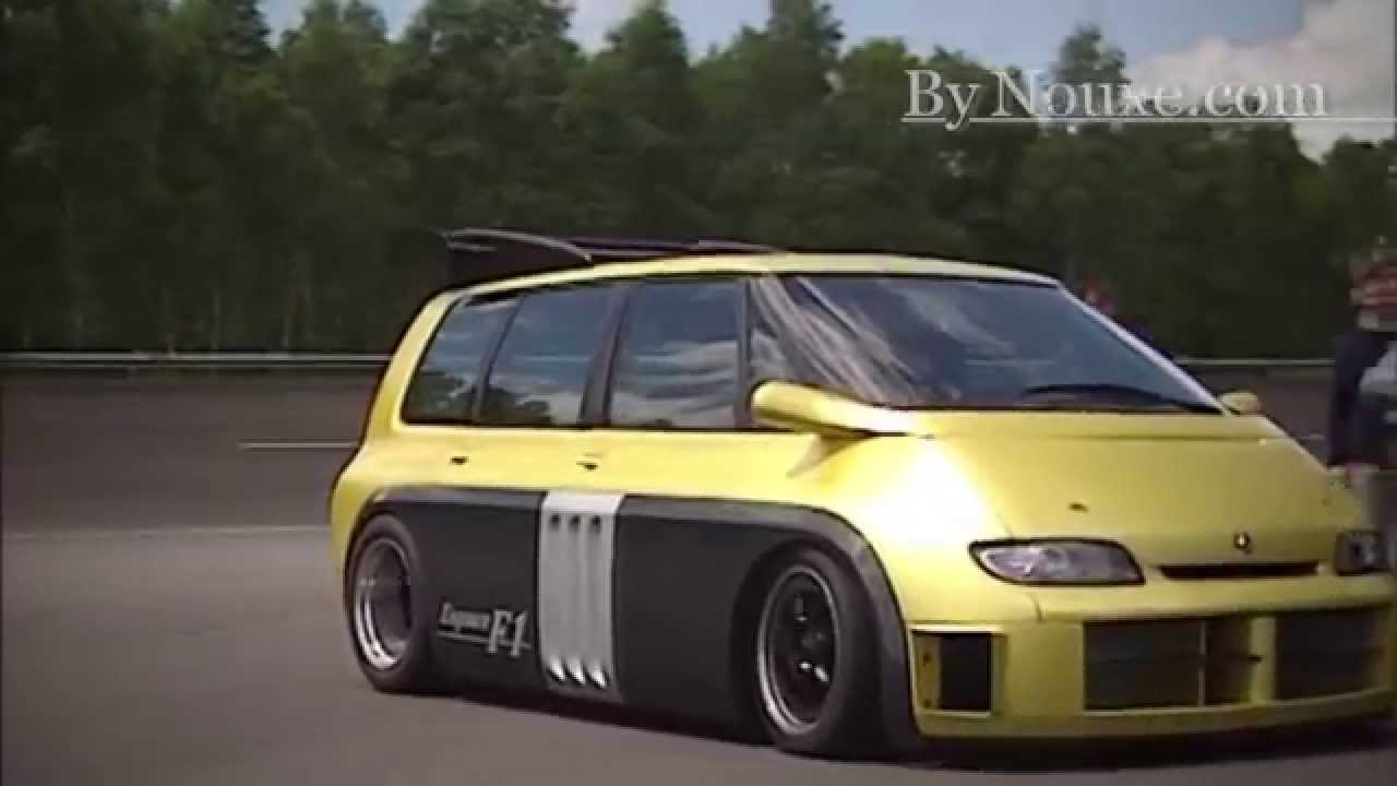 ESPACE RENAULT F1 Fire UP Exclusive 820 Ch 720P HD   YouTube