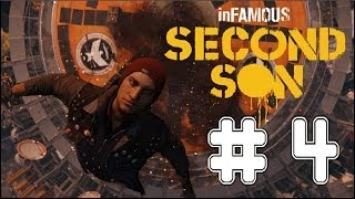 inFAMOUS: Second Son - Game Walkthrough - Part 4 - Space Needle - (PS4) [HD]