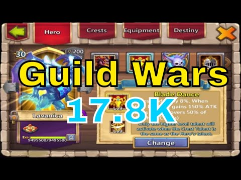 Personal Best Of 17.8K In Castle Clash Guild Wars