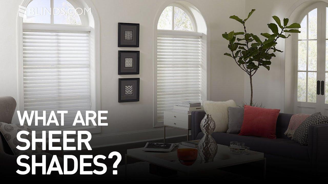 Custom Sheer Shades Window Treatment Ideas Youtube