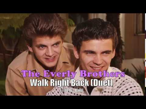 Everly Brothers - Walk Right Back [Duet] (Karaoke)