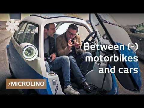 Microlino: scooter inventor revives old microcar as electric