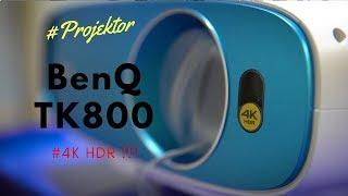 Projektor BenQ TK800 4K z HDR - test.