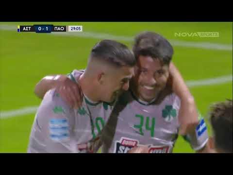 Asteras Tripolis Panathinaikos Goals And Highlights
