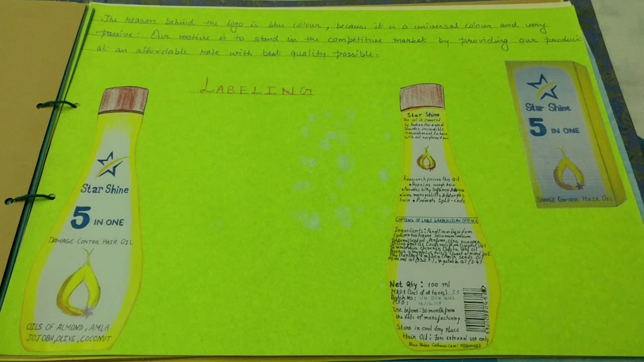 Cbse Class 11 Business Studies Project On Innovative Product