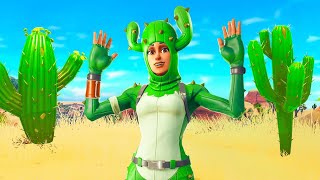 Pretending to be a Cactus In Fortnite... thumbnail