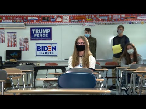How students in battleground Pennsylvania view the presidential election now vs 2016