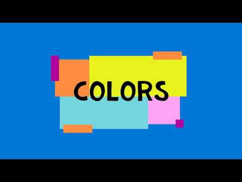 Download Preschool Early Learning VideoThe Color Blue