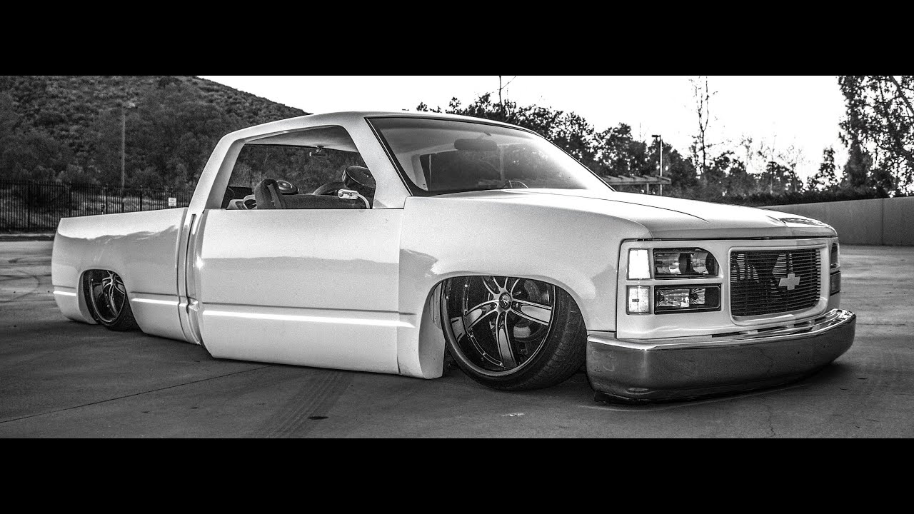 Body Dropped Chevy Youtube