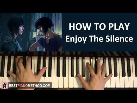 """HOW TO PLAY - Ghost In The Shell OST - """"Enjoy The Silence"""" - KI Theory (Piano Tutorial Lesson)"""