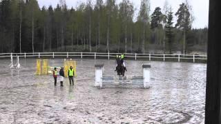 Josefine Persson och Spirit - 1m Tierps Ryttarklubb