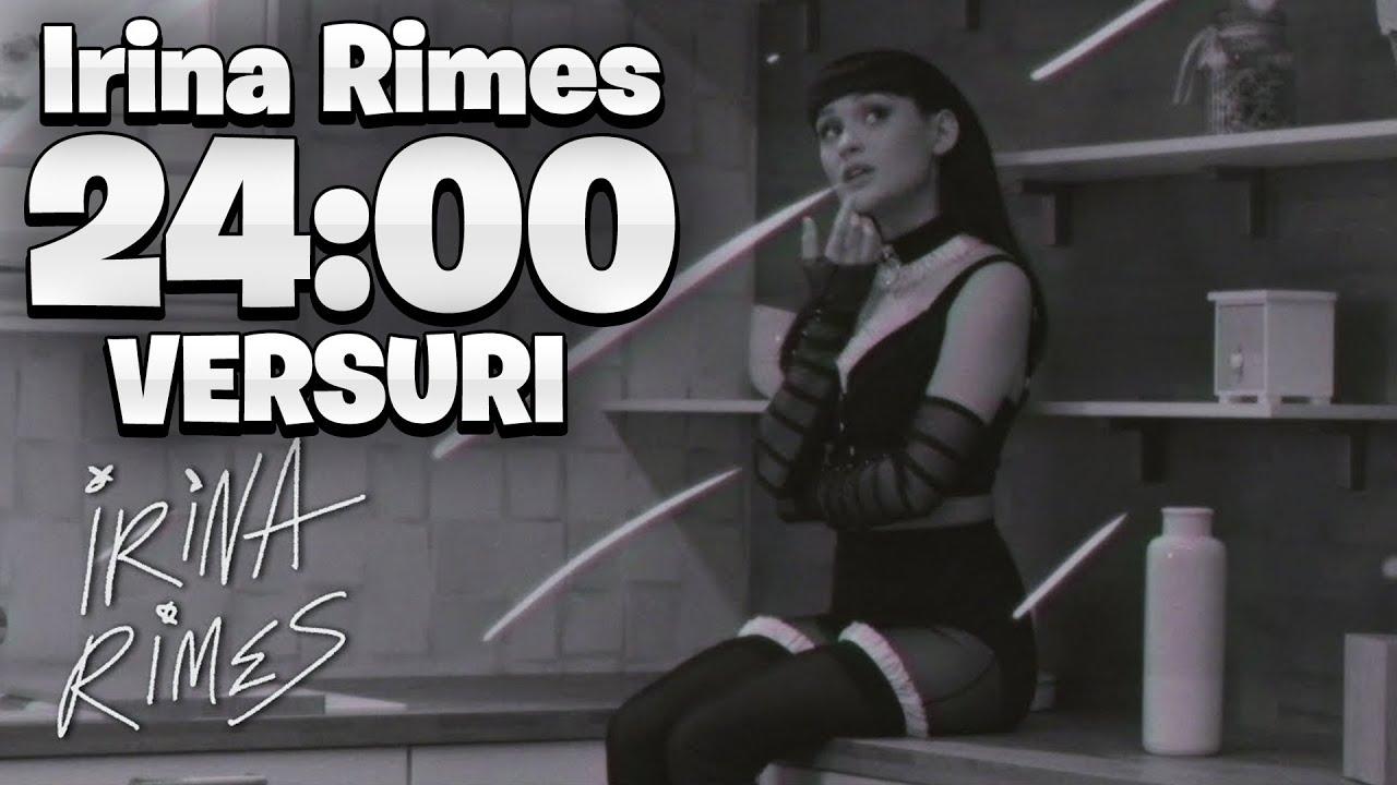 Irina Rimes - 24:00 [Versuri]