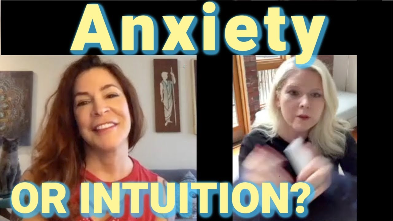 Interview with an Intuit:Anxiety or Intuition? Tapping into Source with India Leigh.