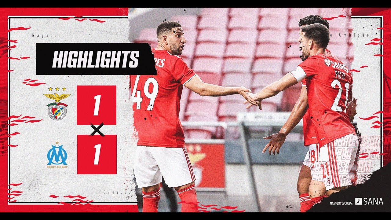 RESUMO/HIGHLIGHTS: SL Benfica 1-1 Olympique de Marseille