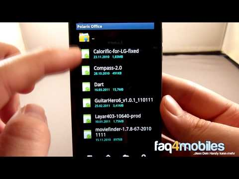 LG Optimus Speed - LG's Software