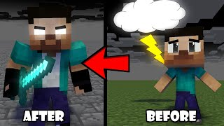 Download lagu Monster School when Steve became Herobrine sad minecraft animation