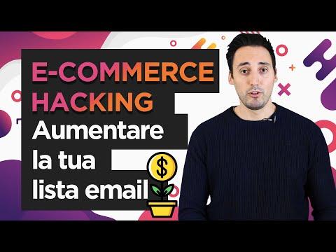 Come AUMENTARE La LISTA EMAIL Del Tuo E-Commerce [Strategia 2020]