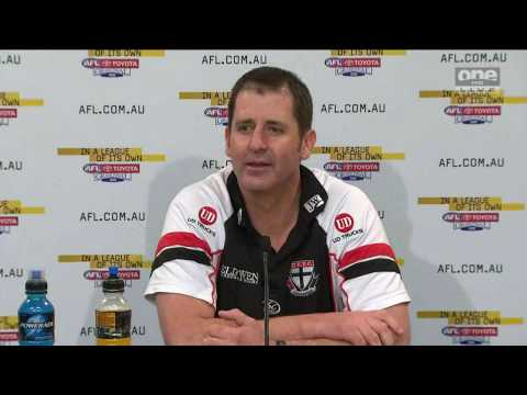 Post Grand Final press conference - Ross Lyon