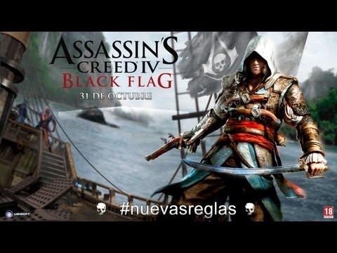 Assassin's Creed 4 Black Flag - Premiere Mundial del Tráiler Gameplay [ES]