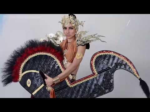 Viral!! Miss Malaysia Pakai Baju Kuda Lumping