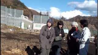 20121114八ッ場の遺跡見学②三平遺跡(川原畑)・