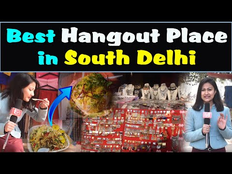 Delhi Best & Cheap Hangout Place in Winter | Saket | South Delhi