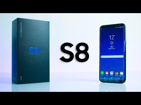 Samsung Galaxy S8 - UNBOXING & Initial REVIEW!