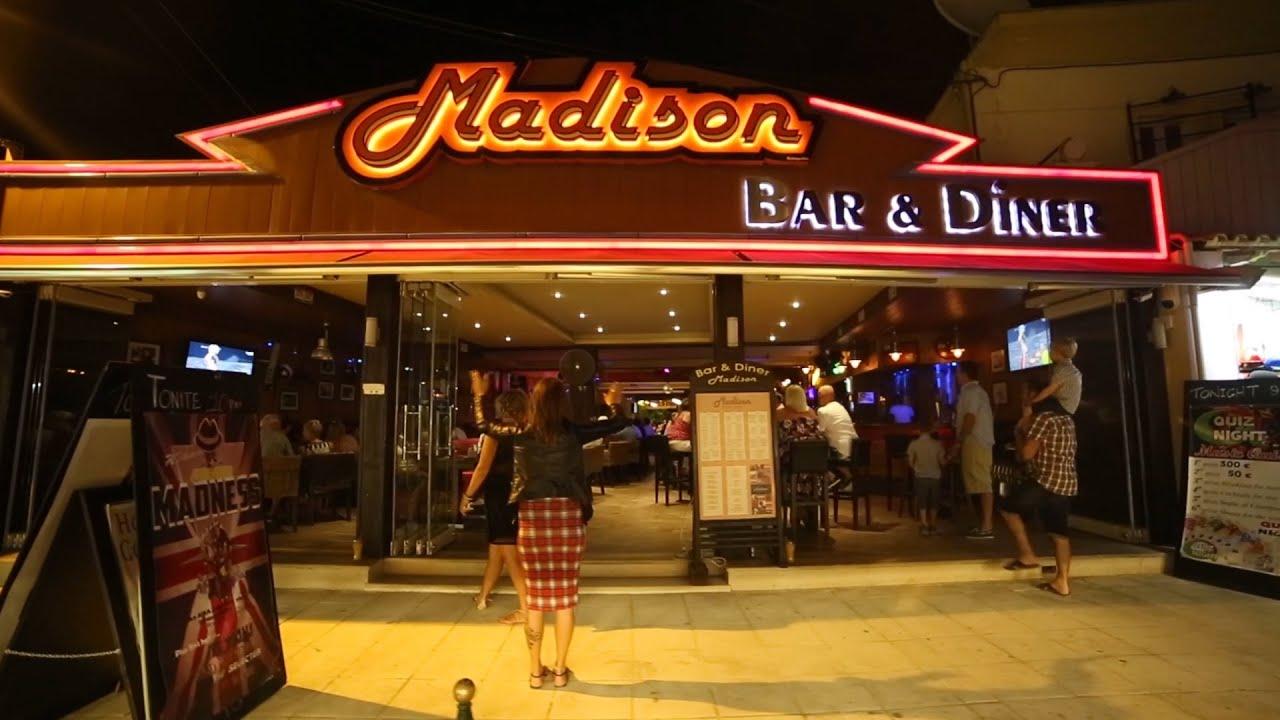 madison bar: