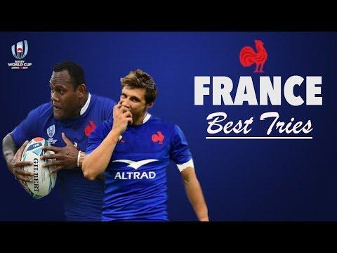Les Meilleurs Essais Français  |  Coupe Du Monde 2019  (HD)