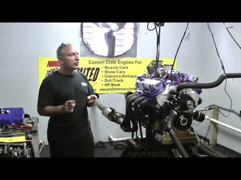 Ford 347CI 450HP Stroker Crate Engine By Proformance Unlimited