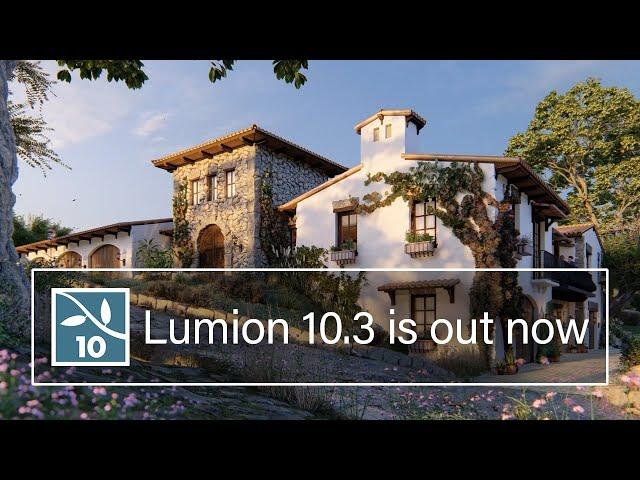 Make Materials Feel Real with Lumion 10.3