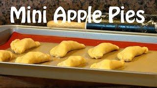 Mini Apple Pie Recipe - Apple Empanadas-- The Frugal Chef