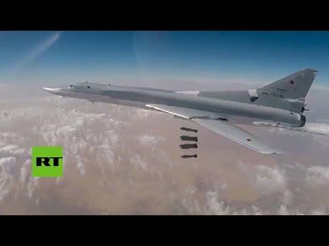 PRIMERAS IMÁGENES: Seis bombarderos rusos atacan posiciones del EI en Siria