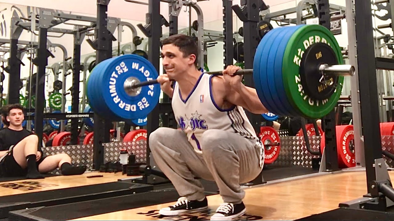 Squat everyday Day 657: 210kg x 1