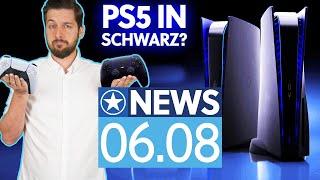 PS5: Bilder zeigen schwarzen DualSense-Controller - News