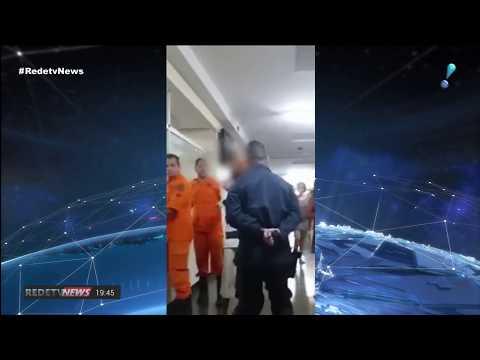 PM dá tapa no rosto de paciente imobilizado em hospital público de Brasília