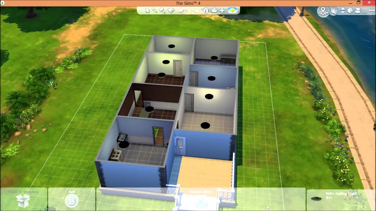 The sims 4 quick build starter home youtube - Quick build houses ...