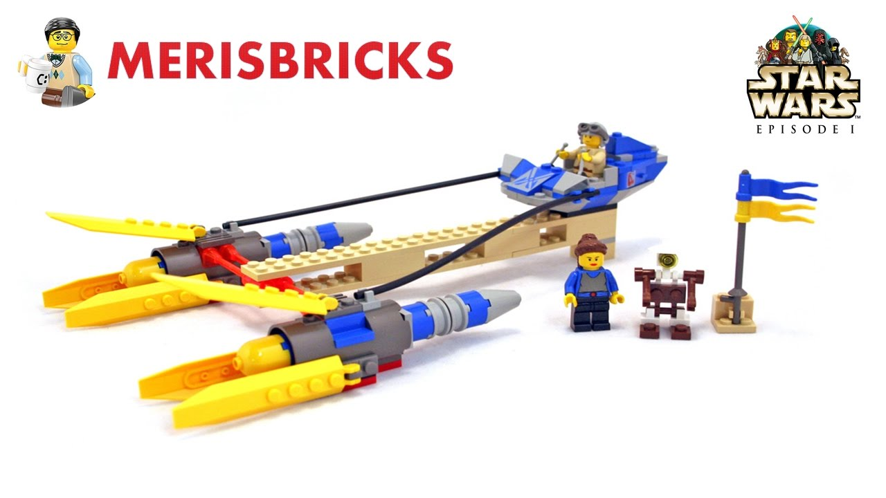 Lego 7131 - Star Wars - Anakin's Podracer - Lego Speed Build and Review