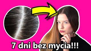 Jak NIE MYĆ włosów przez 7 DNI?!  VLOGMAS #20