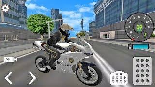 Juego de Motos  -  Moto de Policía - Juegos