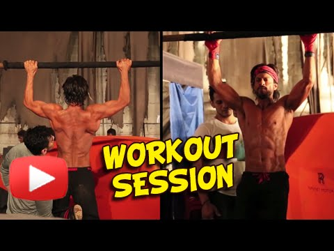 Shahrukh Khan's Workout Sessions For His...